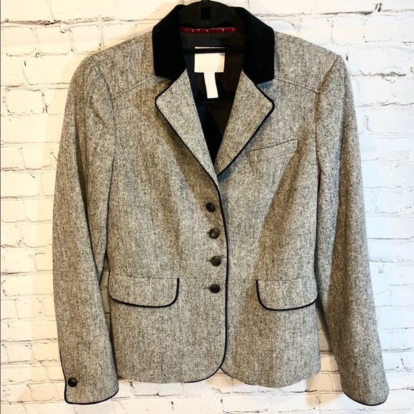 Banana Republic Jackets & Blazers - Banana Republic HERITAGE Tweed Wool Jacket
